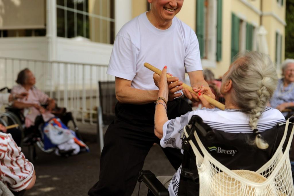 Vandoeuvres le 20.06.2014, La Maison de Pressy, EMS, ambiance © Georges Cabrera